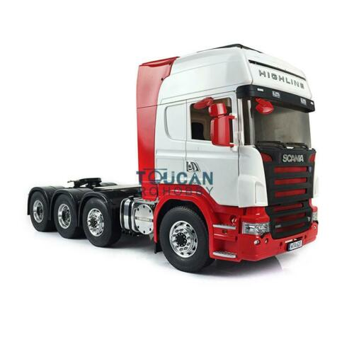 LESU 1/14 Metal Chassis RC Tractor Truck Hercules Sca 8*8 Cabin DIY Tmy THZH0537