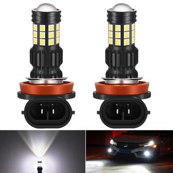 2pcs H8 H11 LED Fog Light HB3 9005 LED Bulb DRL Auto Lamp For BMW E46 E39 E36 E90 E60 F30 F20 F10 E30 E34 E53 E87 E92 X5 E53 E70 image