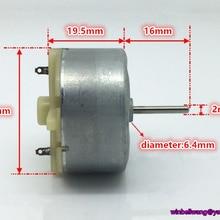 DC Motor RF-500TB Long-Shaft Metal Brush-Massage/rotation 6-12V 16mm DIY