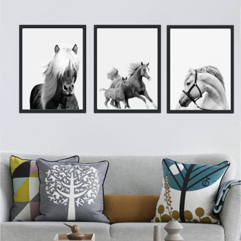 Pentium Horse Decor Canvas Poster Decorative Print Wall Art Picture Living Room#YWLY-113 image