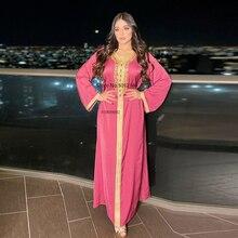 Abaya rose Longue en Satin pour femmes, Robe Longue pour Ramadan Eid Moubarak, dubaï, turquie, Islam, Hijab, Djellaba