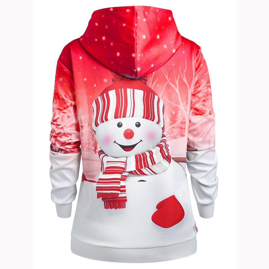 YUNY Womens Pockets Solid Colored Long Sleeve Hoodies Sweater Pullover White S
