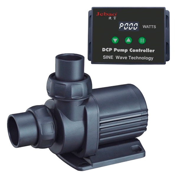 Jebao Jecod DCP Series Aquarium Fish Tank Adjustable Sump Return Water Pump DCP3000 4000 5000 W/ Controller