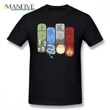 Ghibli Elemental Charms T Shirt Short Sleeve Clothes New Cosplay Plus Size O-neck Cotton T Shirts цена и фото
