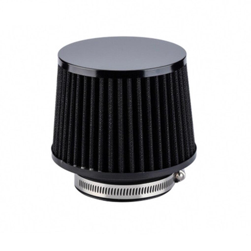 Автомобильный двигатель холодного воздуха впускной вентиляционный фильтр 76 мм Диаметр нетканого полотна 3 дюйма автомобильные аксессуары