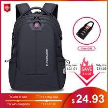 2020 nouvelle mode 17.3 pouces sac à dos pour ordinateur portable hommes multifonctionnel étanche sacs à dos mâle USB charge voyage sac à dos Mochila