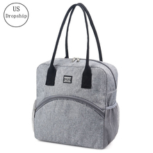лучшая цена New Fresh Insulation Lunch Bag For Women man Thermal Insulated One shoulder bag Picnic Food Cooler Box Tote Storage Ice Bags
