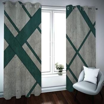 Modern Curtains Blackout High-end luxury Curtains For The Living Room Bedroom Window Treatment 3D Drapes