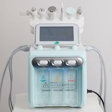6 in 1 h2 o2 hydra facial oxygen facial cleaning device with bio face lifting skin rejuvenation whit