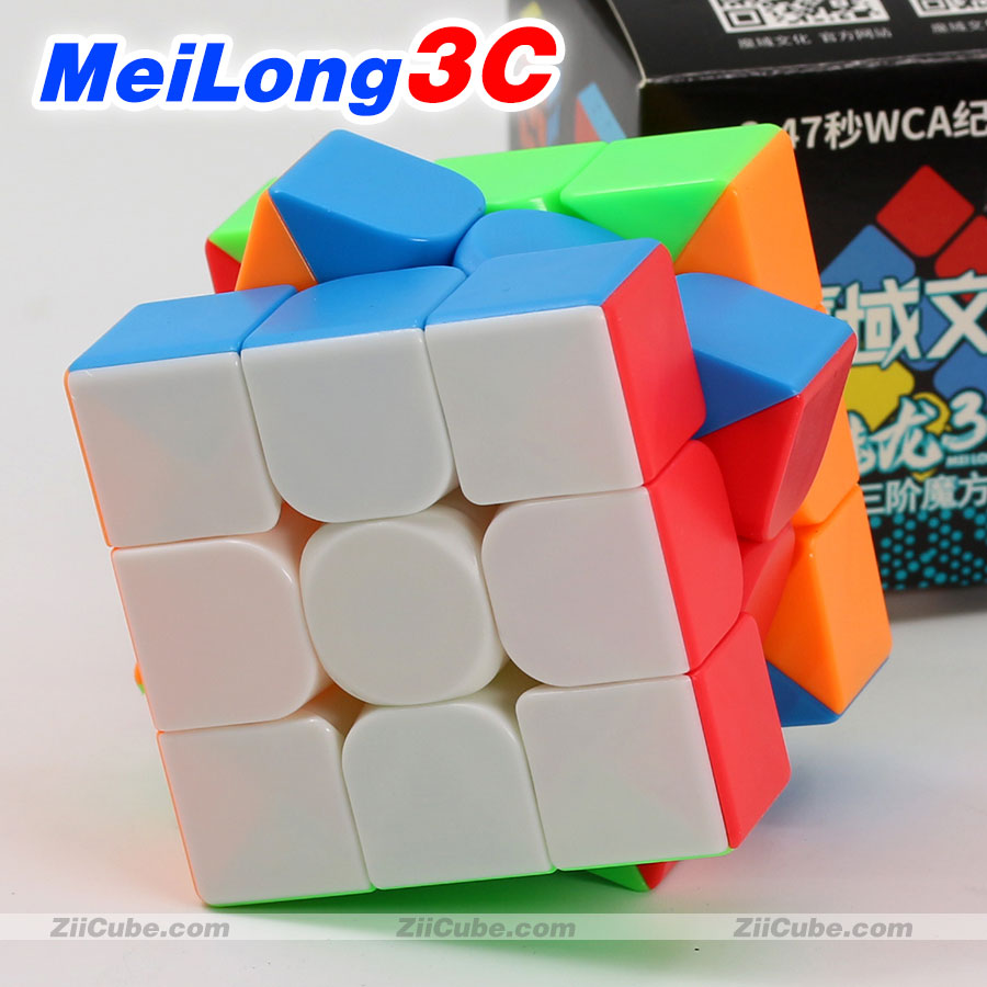 Magic Cube Puzzle MoYu MeiLong 3C 3x3x3 MeiLong3C 55.5mm Professional Educational Speed Cube Twist Wisdom Creative Toy Game Cube