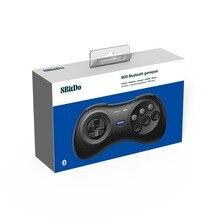 8BitDo M30 سماعة لاسلكية تعمل بالبلوتوث تحكم غمبد ل Sega Genesis ميجا حملة نمط ل نينتندو NS التبديل/Andorid/ويندوز/MacOS