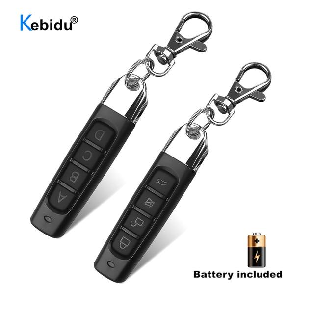 KEBIDU 433MHZประตูโรงรถประตูรีโมทคอนโทรลDuplicatorโคลนโคลนรหัสกุญแจรถ