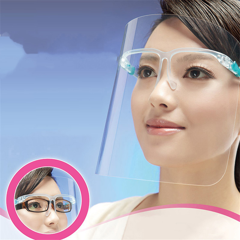Dust-Proof Face Kitchen Oil-Splash Proof Mask Onion Goggles Protective Mask Kitchen Cooking Work Safety Painting Face Protection