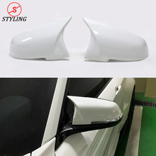 F36 F20 ABS Mirror Case white AN style For BMW F30 M2 F87 X1 E84 F21 F32 F33 Side RearView Cover replacement styling