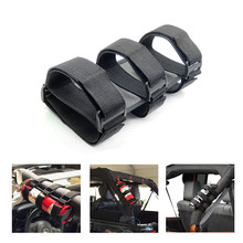 1pc Fire Extinguisher Holder Auto Fixed Holder Nylon Bag Fixing Easy Carry Car Roll Bar Trunk Store Content Bag Strap Kit speedwow car styling 4pcs set car trunk receive store content bag storage network fixed fire extinguisher magic strip fixed belt