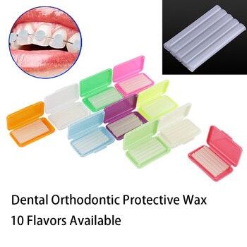 1pc Dental Orthodontics Wax Dental Ortho Wax Mix Scent for Braces Bracket Gum Irritation Dentist Tools Dentistry Materials