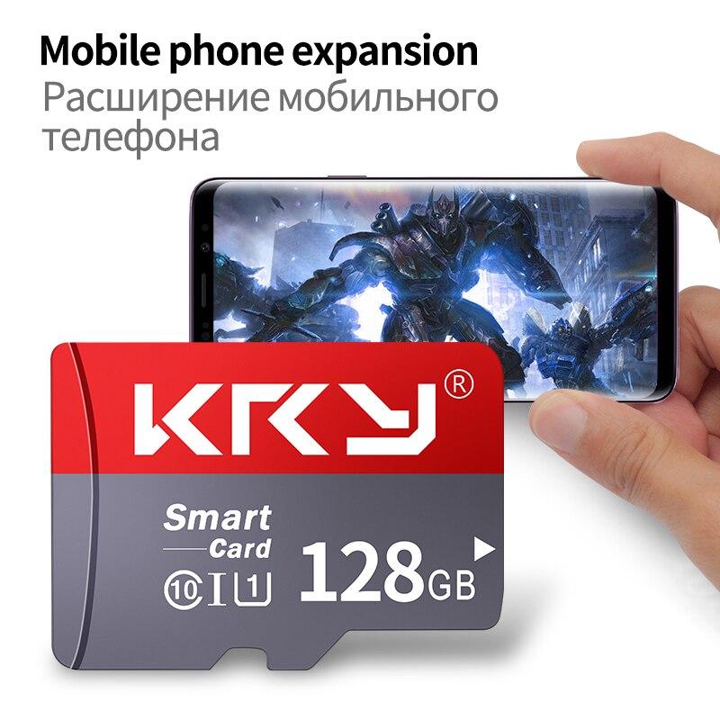 KRY Original Lexar 10MB/s 8GB 16G 32GB 64GB 128GB SD Card SDXC Class 10 Memory Card For 1080p 3D 4K Video Camera With SD Adapter