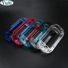 YuXi 10pcs/Lot Clear Hard Case Transparent Protective Cover Shell Skin for Sony Psvita for PSV 1000 Crystal Body Protector