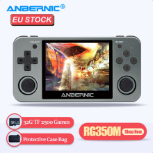 ANBERNIC Retro Permainan Pemain RG350M RG350 3.5 IPS 64Bit 32G TF 2500 Game RG 350 HDMI TV Output PS1 konsol Game Portabel(China)