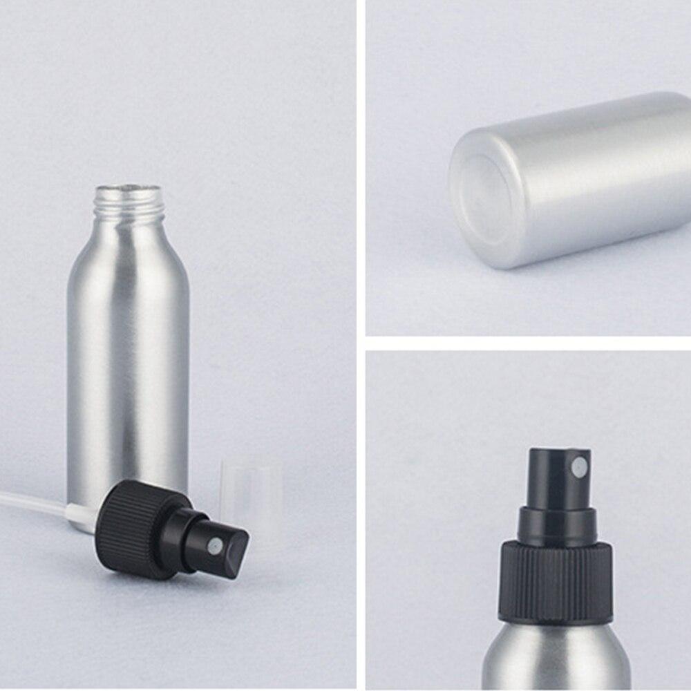 Empty Refillable Cosmetic Sprayer Atomizer Aluminum Spray Bottle Portable Mini Perfume Bottles 50ml/100ml