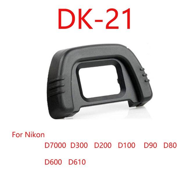 10ชิ้น/ล็อตDK 21ยางEye Cup EyecupสำหรับNikon D300 D200 D90 D80กล้อง