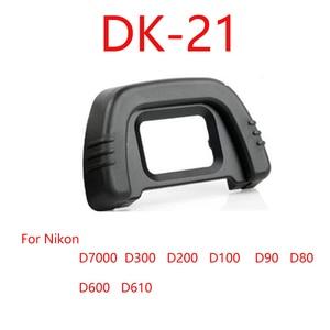 Image 1 - 10pcs/lot DK 21 Rubber Eye Cup Eyepiece Eyecup for Nikon D300 D200 D90 D80 Camera