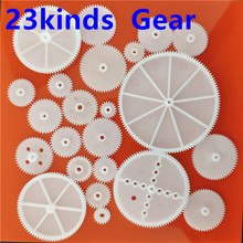 23kinds M0.5 Plastic Single Layer Gears ABS Motor Shaft Teeth Gear DIY Toys Robot Helicopter Parts Free Shipping Dropshipping free shipping plastic gears pom 0 5m 67t stepped gears hole 3mm 4mm 5mm 6mm meat grinder parts etc