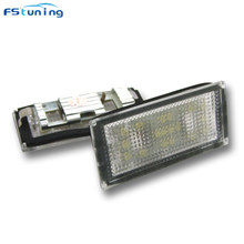 цена на OEM styling 12v 8W led license plate light for BMW E66 car plate light number plate lamp tail number lamp for bmw e66