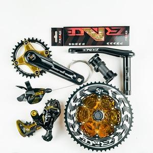 Image 3 - Zrace X Ltwoo AT12 12 Speed Crankstel + Shifter + Achterderailleur 12 S + Alpha Cassette 52T/kettingbladen + Kettingen, 1X12S Groupset