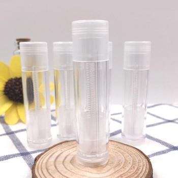 5g Empty Clear LIP BALM Tubes Containers Transparent Lipstick fashion Cool Lip Tubes Refillable Bottles LX8924