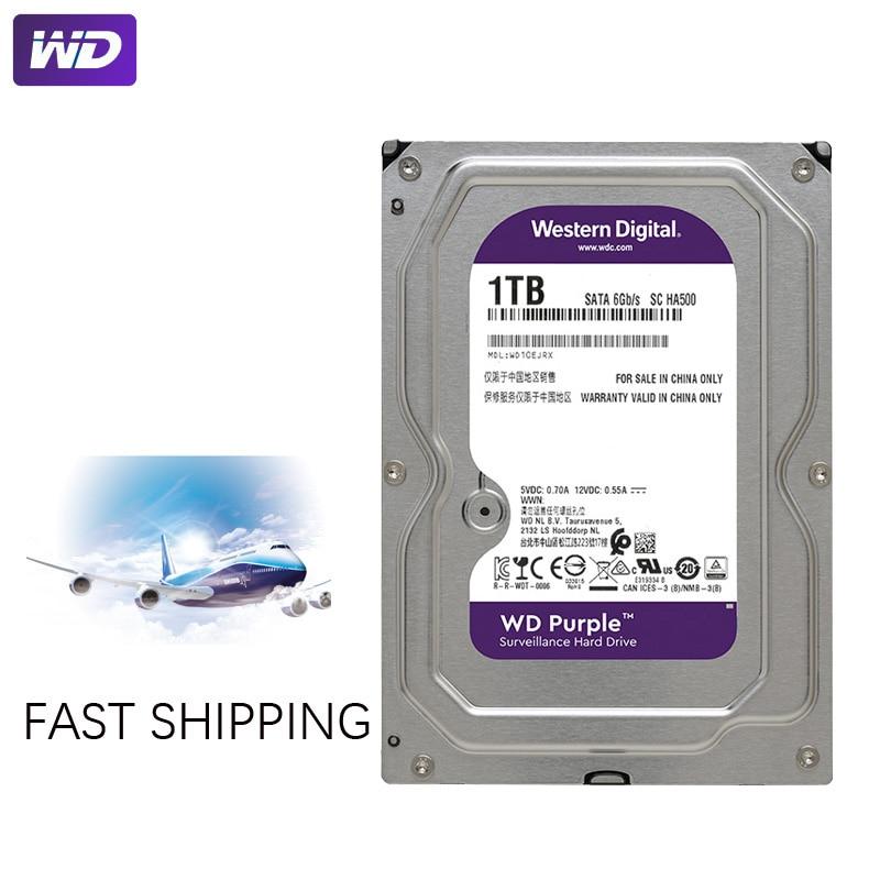 "WD PURPLE Surveillance 1TB Hard Drive Disk SATA III 64M 3.5"" HDD HD Harddisk For Security System Video Recorder DVR NVR CCTV 5"