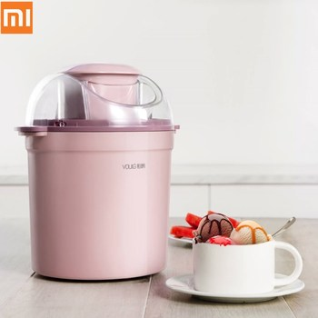 Xiaomi DIY Ice Cream Maker Machine 800ml Triple Refrigeration System Simple One-button Operate Low Noise Yogurt Ice Cream Maker