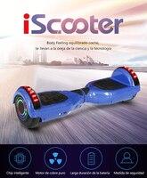 Freies verschiffen iScooter Hoverboard Bluetooth 6 5 zoll 2 Rad Smart Balance Elektrische Roller Selbst Ausgleich Skateboard Giroskuter-in Selbstbalancierende Scooter aus Sport und Unterhaltung bei