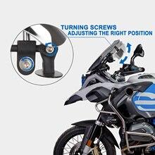 Мотоциклетное зеркало заднего вида с креплением на 180 градусов для большинства мотоциклов, спортивных велосипедов, уличных велосипедов, ск...