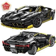 Super kit de carro centenário edição alta-tecnologia blocos de construção veículo kit modelo moc conjunto carro tijolos brinquedos presente de aniversário