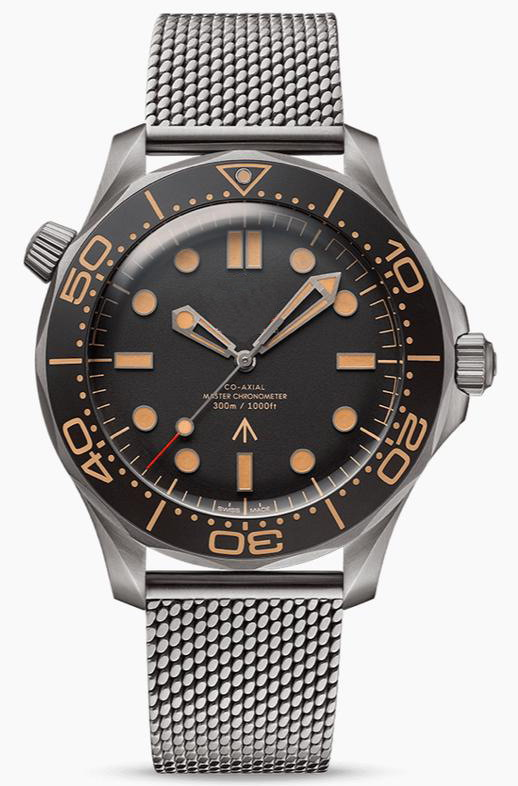 2020 New Luxury Brand Men Automatic Mechanical Stainless Steel 007 Limited Ddition Sapphire Orange Black Ceramic Limited Watch