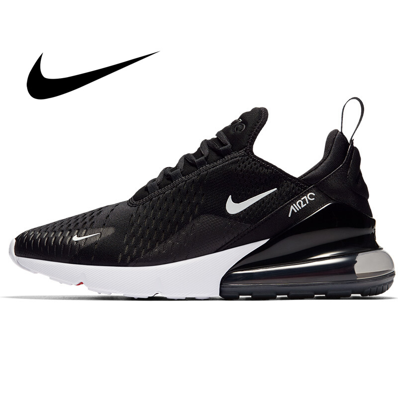 Original Authentic Nike Air Max 270 Men's Running Shoes Sport Bright Color Sneakers Lightweight Mesh Breathable Footwear AH8050