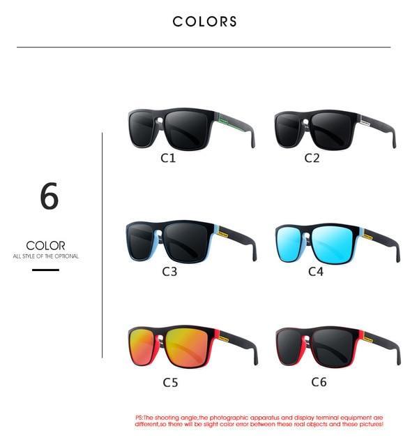 Gafas de sol polarizadas para hombre y mujer, lentes de sol masculinas para conducir, Retro, de lujo, de marca, de diseñador, UV400, 2021 3