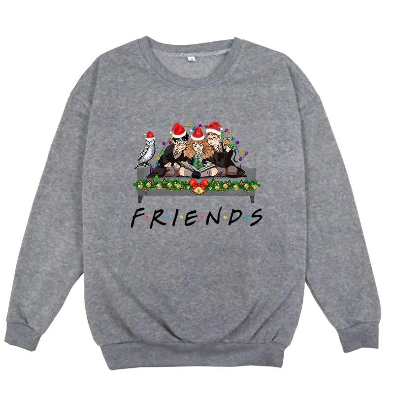 Boys/Girls O-neck Sweatshirts Friends Tv Show O Neck Long Sleeve Hoodies Men/Women Sportswear With Round Collar Unisex Jumpers