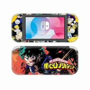 Image 4 - NintendoSwitch Skin Sticker My Hero Academia Decal Cover For Nintendo Switch Lite Protector Nintend Switch Lite Skin Sticker