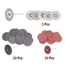 60 шт алмазные отрезные диски шлифовальный диск циркулярной