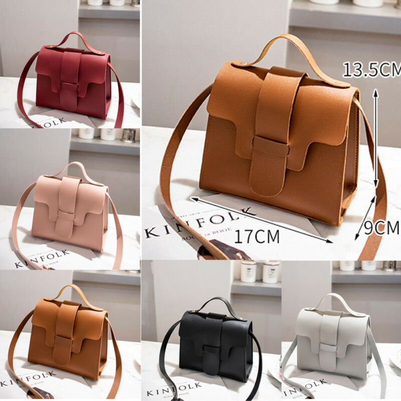 Womens Handbags Small Leather Crossbody Bag Purse Vintage Cell Phone Bag