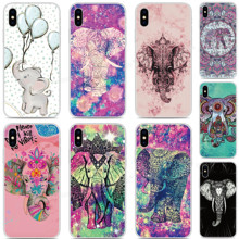 Elephant Silicone Phone Case For OPPO Find X2 Pro A9 A8 A5 A31 2020 A91 AX5S Realme 5 6 X50 Reno A 3 Pro TPU Soft Back Cover tpu soft silicone sailor moon phone case for oppo find x2 pro a9 a8 a5 a31 2020 a91 ax5s realme 5 6 x50 reno a 3 pro back cover