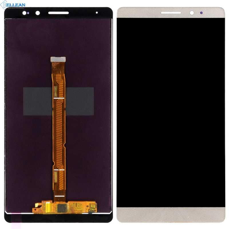Dinamico substituição mate8 display para huawei companheiro 8 lcd com painel de toque vidro digitador assembléia nxt l29 display frete grátis
