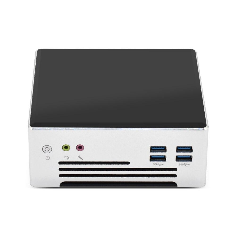 Мини-ПК 10-го поколения с процессором Intel Core i9 10880H i7 1065G7 M.2 NVMe, ПК для любителей компьютерных игр, ПК для офиса, студентов, AC, Wi-Fi 2xLan 6xUSB3.0