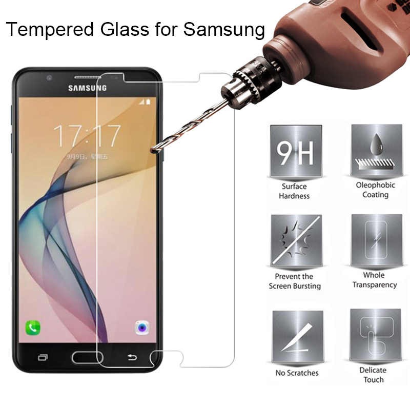 9H HD Toughed Tempered Glass Protective Glass for Samsung A9 Pro A8 A6 Plus Screen Protector on Galaxy A8 A9 Star Lite