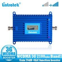 2016 broadband 70db 3g ripetitore di signal 2100mhz umts wcdma del segnale 2100 3g booster wcdma mobile  del ripetitore цена