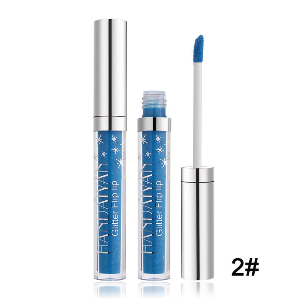 Makeup Metallic Shiny Lipstick Liquid Lipsticks Party Club Lip Gloss Matte Lip Stick Lasting Make Up Lip Care Gel