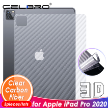 Carbon Fiber Back Film For Apple iPad Pro 2020 Back Sticker Screen Protector For iPad Pro 11 12.9 2020 Protection Back Film