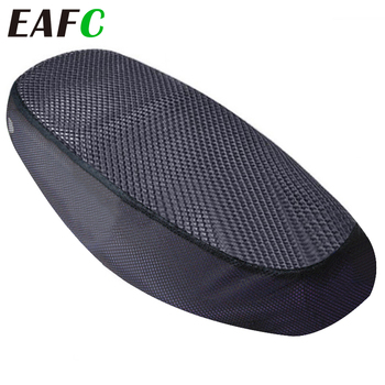 Breathable Summer 3D Mesh Seat Cover Motorcycle Moped Motorbike Scooter Seat Covers Cushion Anti-Slip Waterproof accessories